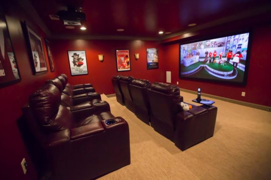 home theater system installation services